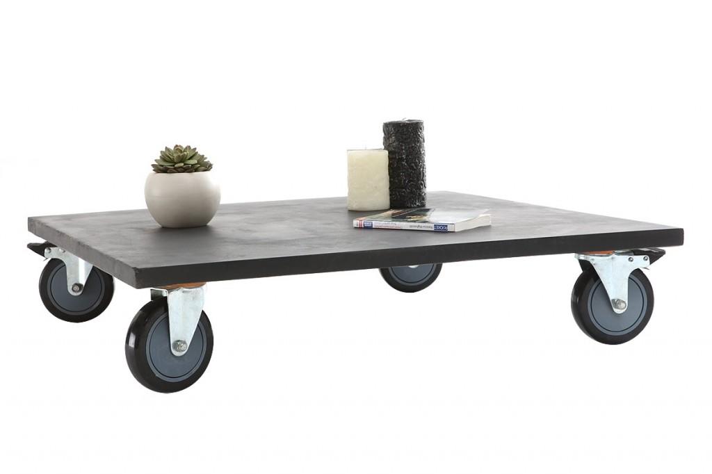 Meubles en b ton c est la tendance evasiondeco for Table basse en beton