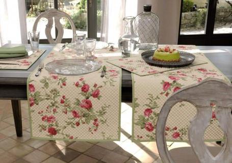 un linge de table pour tous les jours evasiondeco. Black Bedroom Furniture Sets. Home Design Ideas