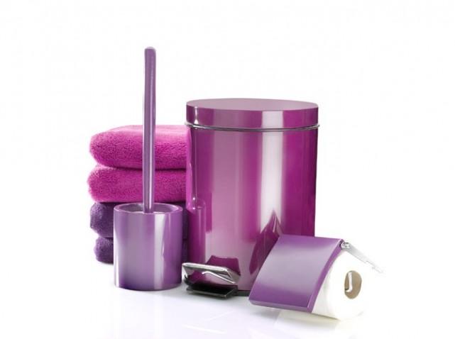 Salle de bain accessoire - Accessoires salle de bain rose ...